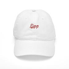 Lipp, Vintage Red Baseball Baseball Cap
