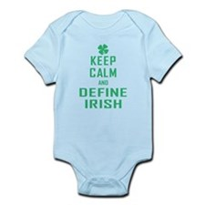Keep Calm Define Irish Infant Bodysuit