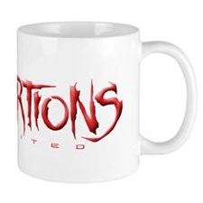 Distortions Unlimited Logo Mug