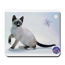 Snowshoe Cats Mousepad