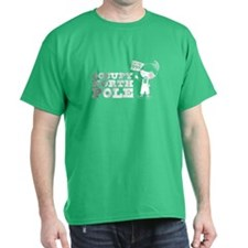 Occupy North Pole Green T-Shirt
