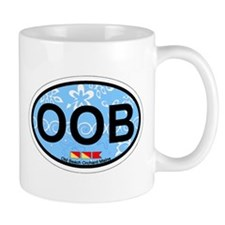 Old Orchard Beach ME - Oval Design. Mug