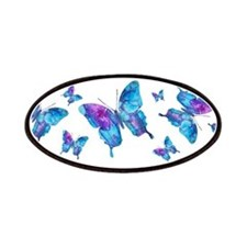 Electric Blue Butterfly Patches