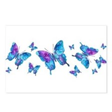 Electric Blue Butterfly Postcards (Package of 8)