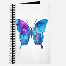 Electric Blue Butterfly Journal