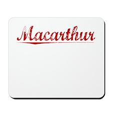 Macarthur, Vintage Red Mousepad