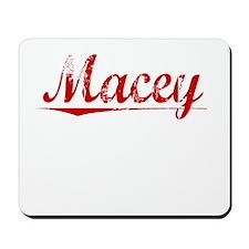 Macey, Vintage Red Mousepad