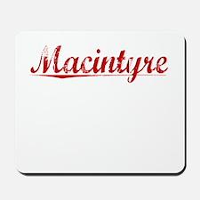 Macintyre, Vintage Red Mousepad