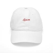 Macon, Vintage Red Baseball Cap