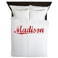 Madison, Vintage Red Queen Duvet