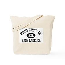 Property of BASS LAKE Tote Bag