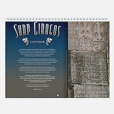 Surp Giragos Armenian Wall Calendar