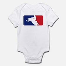 Major League Snowmobiler Infant Bodysuit