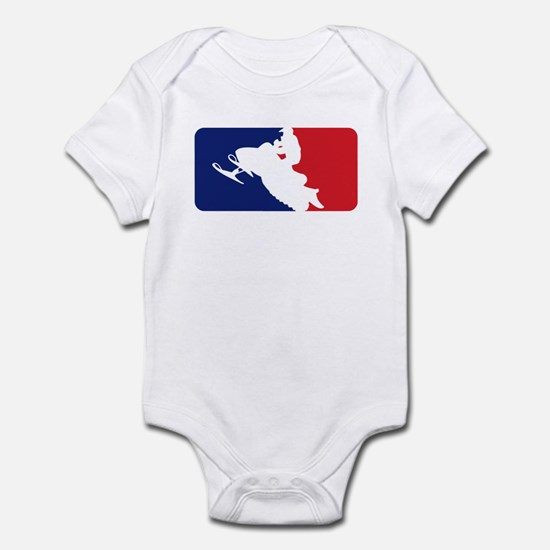 Major League Snowmobiler Infant Bodysuit