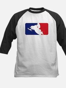 Major League Snowmobiler Kids Baseball Jersey
