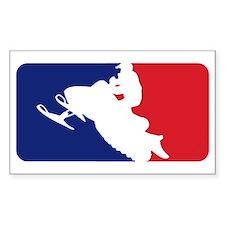 Major League Snowmobiler Decal