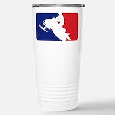 Major League Snowmobiler Travel Mug