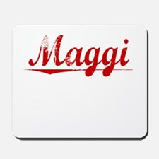 Maggi, Vintage Red Mousepad