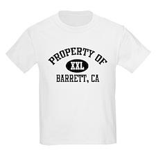 Property of BARRETT Kids T-Shirt