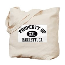 Property of BARRETT Tote Bag