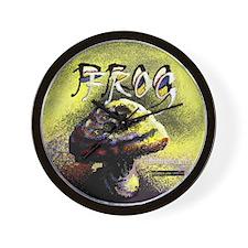 Progfrog Logo Wall Clock