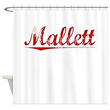 Mallett, Vintage Red Shower Curtain