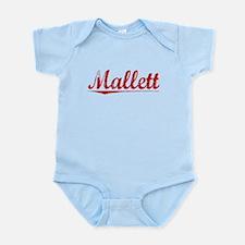 Mallett, Vintage Red Infant Bodysuit