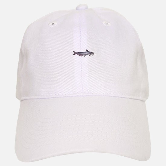 Blue Catfish Baseball Baseball Cap