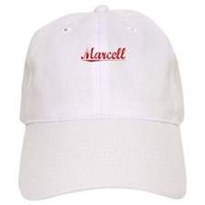 Marcell, Vintage Red Baseball Cap
