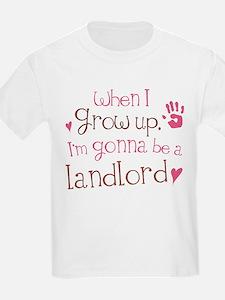 Kids Future Landlord T-Shirt
