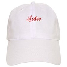 Mateo, Vintage Red Baseball Cap