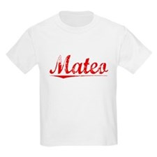Mateo, Vintage Red T-Shirt