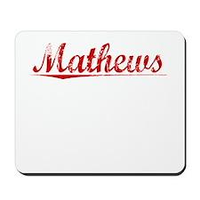 Mathews, Vintage Red Mousepad
