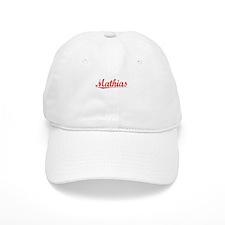 Mathias, Vintage Red Baseball Cap
