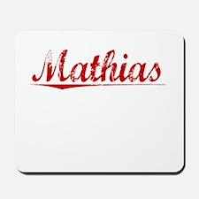 Mathias, Vintage Red Mousepad