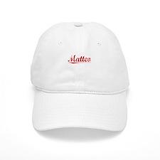 Matteo, Vintage Red Baseball Cap