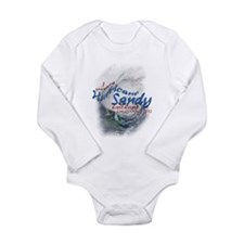 Hurricane Sandy Survivor: Long Sleeve Infant Bodys