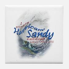 Hurricane Sandy Survivor: Tile Coaster