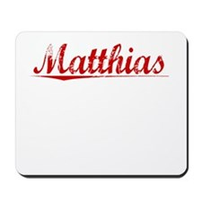 Matthias, Vintage Red Mousepad