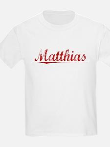 Matthias, Vintage Red T-Shirt