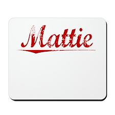 Mattie, Vintage Red Mousepad