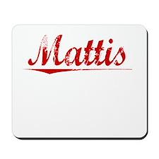 Mattis, Vintage Red Mousepad
