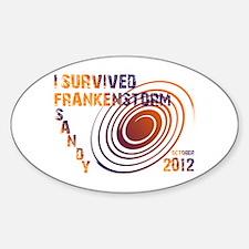 I Survived Frankenstorm Sandy 2012 Decal