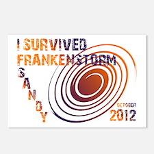 I Survived Frankenstorm Sandy 2012 Postcards (Pack