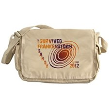 I Survived Frankenstorm Sandy 2012 Messenger Bag