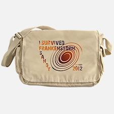 I Survived Frankenstorm Sandy 2012 Messenger Bag