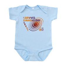I Survived Frankenstorm Sandy 2012 Infant Bodysuit
