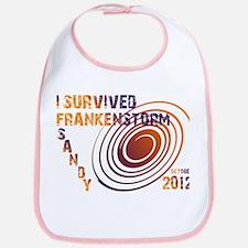 I Survived Frankenstorm Sandy 2012 Bib