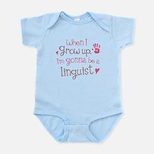 Kids Future Linguist Infant Bodysuit