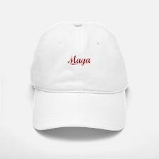 Maya, Vintage Red Baseball Baseball Cap